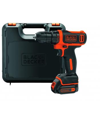 Black&Decker BDCDD12K cordless screw driller + case + rechargeable battery 1.5Ah