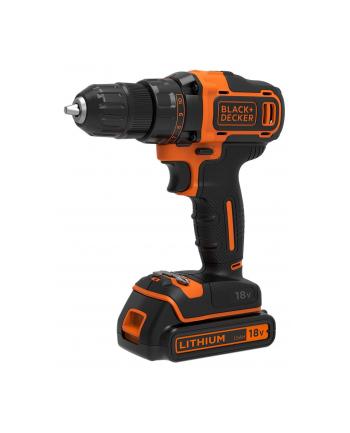 Black&Decker BDCDD186KB-QWBlack&Decker BDCDD186KB Pistol grip drill Lithium-Ion - Li-Ion 1.5Ah Black,orange cordless combi drill - Screw Driller - 1331215