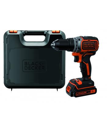 Black&Decker BL186K cordless screw driller + case + rechargeable battery 1.5Ah