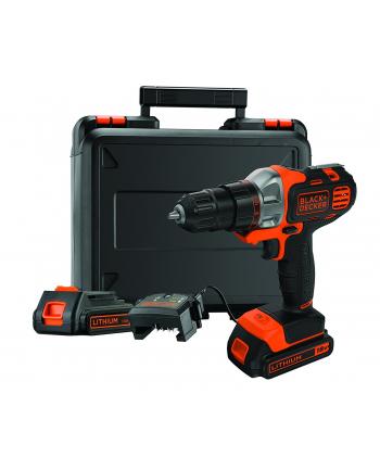 Black&Decker MT218KB MultiEvo rechargeable battery-multifunctional tool + case + 2 Batteries 1.5Ah