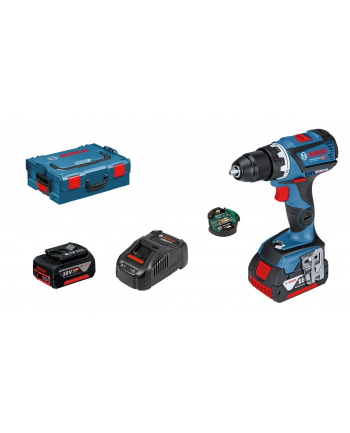 Bosch Professional GSR 18V-60 C cordless screw driller + L-Boxx + 2 Batteries 5.0Ah - 06019G1101