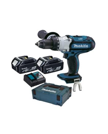 Makita DDF451RTJ cordless screw driller + MAKPAC + 2 Batteries 5.0Ah