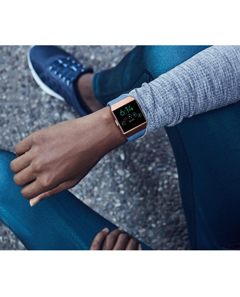 FitBit Ionic - Bluetooth NFC - grey/copper