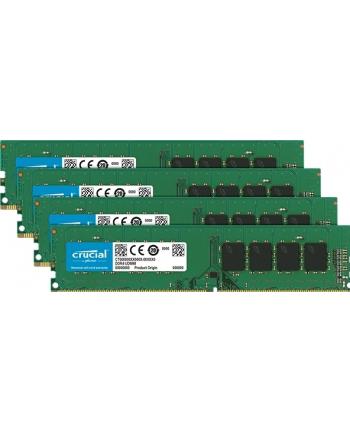Crucial DDR4 32 GB 2666-CL19 - Quad-Kit