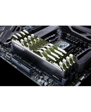 G.Skill DDR4 32 GB 3200-CL16 - Quad-Kit - Classic Camouflage, Sniper X