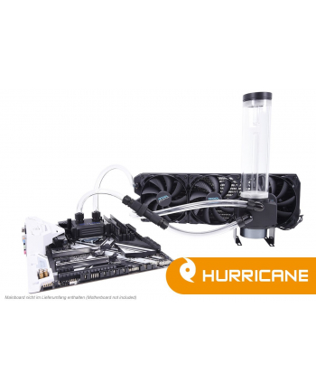 Alphacool Ice Storm Hurricane Copper 45 3x140mm Water Cooling Set