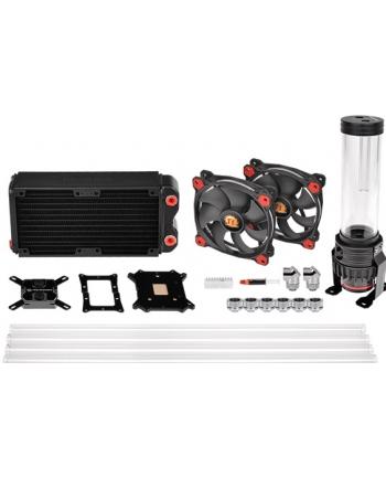 Thermaltake Pacific Gaming RL240 D5 Hard Tube Water Cooling Kit - black/red