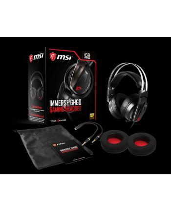 MSI Słuchawki Gamingowe Immerse GH60