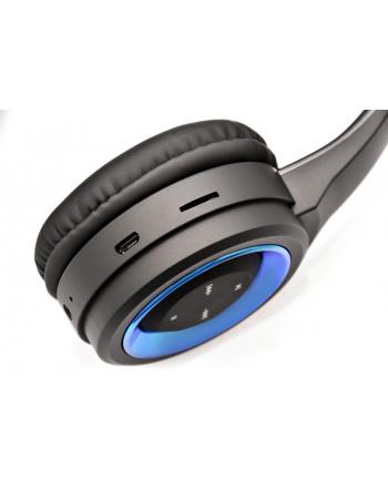 Vakoss Słuchawki Bluetooth 4.2 z mikrofonem, SK-841BX, składane, czarne