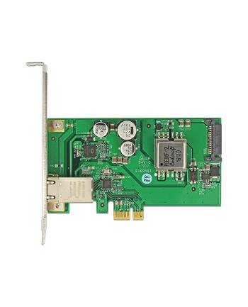 DeLOCK PCIe Network Card 1Gbit PoE+RJ45