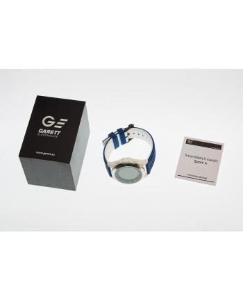 Smartwatch , Zegarek Sportowy Garett Sport 4 Niebiesko - Biały