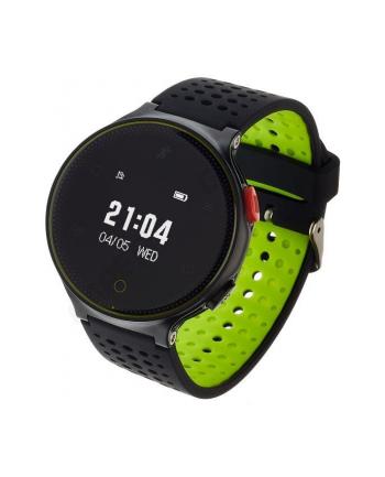 Smartwatch, Zegarek Sportowy Garett Sport 21 Czarno - Zielony