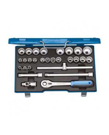 Gedore 2682877 D 19 VMU-10 Socket Set 1/2'' 28 pcs UD 10-36 mm - DIY & tools