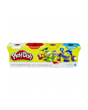 Hasbro Play-Doh 4-Pack of Classic Colors - B6508