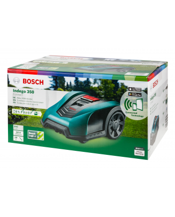 Bosch cordless robotic lawnmower Indego 350 Connect, 18V