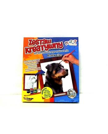 Mirage pies Rottweiler zestaw do malowania 61005