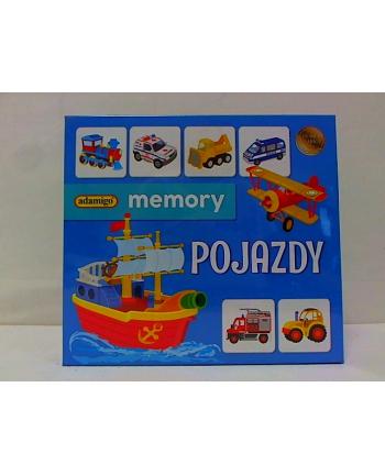 Pojazdy - Adamigo memory 07257