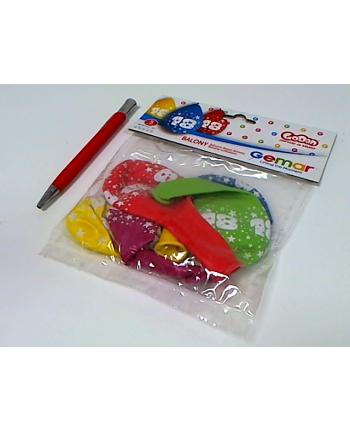 godan Balony 12 z nadr 18, pastel mix 5szt GS110/18W