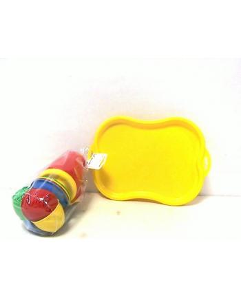 maksik Zestaw naczynek z tacą TEH1295