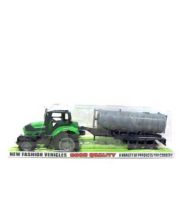 maksik Traktor z beczkowozem 666-117B CAR6903