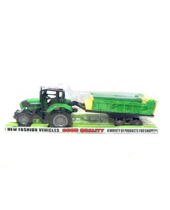 maksik Traktor z przyczepą 666-118C CAR6941