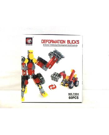 hipo Klocki deformation blicks 60 części HKM02