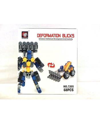 hipo Klocki deformation blicks 68 części HKM04