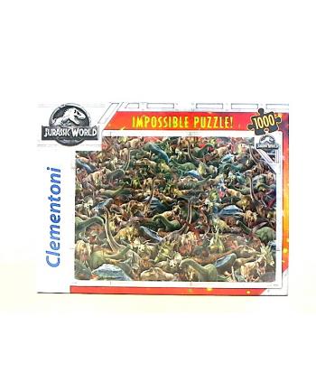 Clementoni Puzzle 1000el Impossible Jurassic World 39470