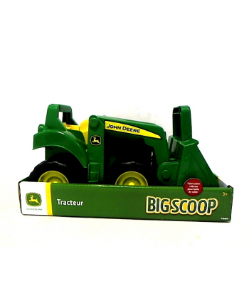 TOMY John Deere traktor z ładowarką 46701