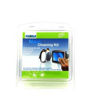 4World NAVI Cleaning Kit zestaw czyszczący do nawigacji GPS oraz PDA