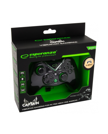 esperanza GAMEPAD PC/PS3/XBOXONE/ANDROID USB CAPTAIN