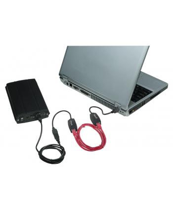 Manhattan Przedłużacz USB po kablu UTP do 60 m