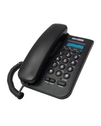 MaxCom KXT100, Telefon Przewodowy, Czarny