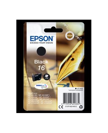 Tusz Epson T1621 black DURABrite | 5.4ml | WF-2010/25x0