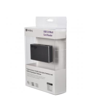 Sandberg czytnik kart pamięci USB 3.0 Multi Card Reader