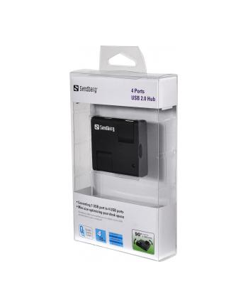 Sandberg hub USB 2.0 (4 porty)