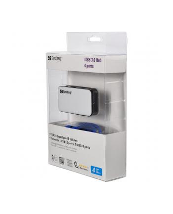 Sandberg hub USB 3.0 (4 porty)