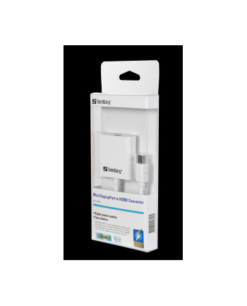 Sandberg adapter Mini DisplayPort>HDMI