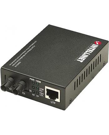 intellinet network solutions Intellinet Media konwerter Ethernet 10/100Base-TX RJ45/100Base-FX ST wielomodowy