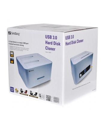 Sandberg stacja klonująca USB 3.0 Hard Disk Cloner
