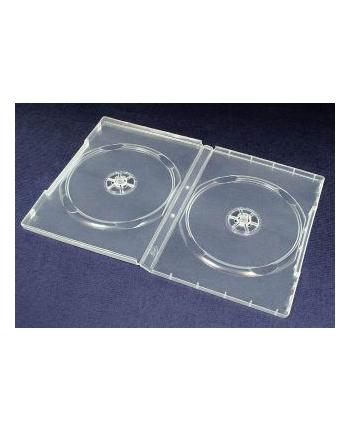 ESPERANZA DVD Box 2 Bezbarwny 14 mm ( 100 szt. - Karton)