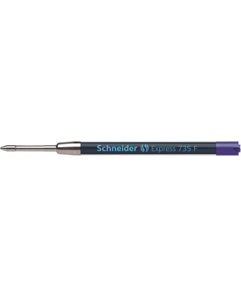 Wkład Express 735 do długopisu SCHNEIDER , F, format G2, niebieski