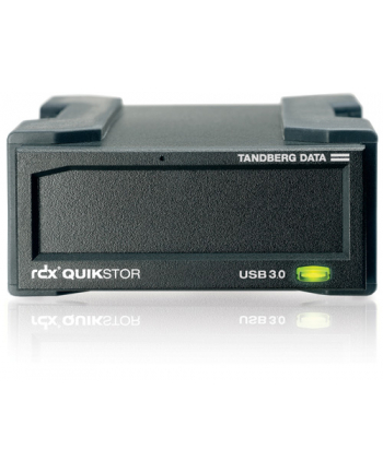 tandberg data Tandberg RDX External drive, black, USB3+ interface