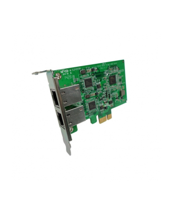 qnap Dual-port 1 GbE network expansion card for tower model, desktop bracket