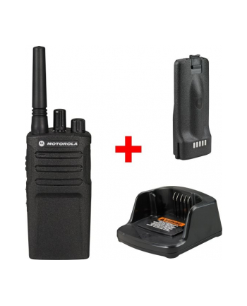 Motorola XT420 Krótkofalówka, (Walkie-Talkie), 9 km, Czarna