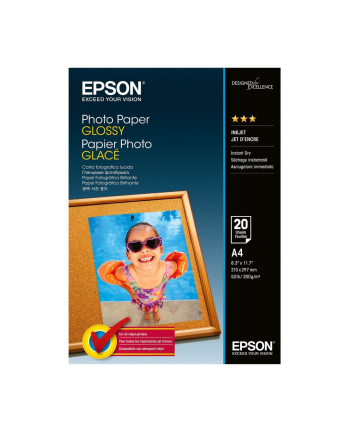 epson Photo Paper Glossy | 200g | A4 | 20ark