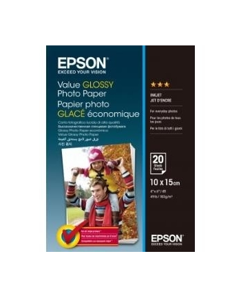 Papier Epson Value Photo | 10x15cm | 20 ark