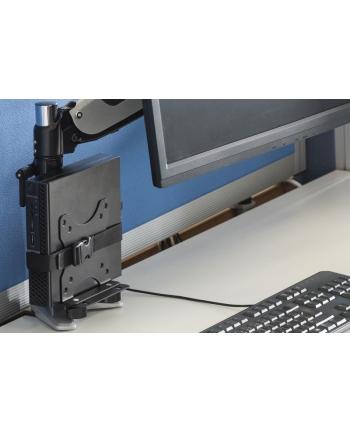 digitus Uchwyt do montażu MiniPC za monitorem, VESA 75x75, 100x100, max. obciążenie 5kg
