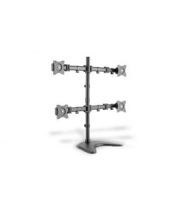 digitus Stojak biurkowy 4xLCD, max. 27'', max. obciąż. 8kg, uchylno-obrotowy 360°(PIVOT)
