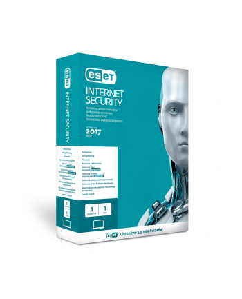 ESET Internet Security BOX PROMO 1U 12M + 3M gratis